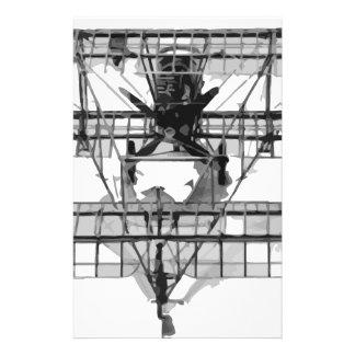 FE_2b_two_seater_biplane_model_RAE-O908 Stationery
