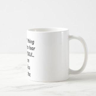 fear aerobics instructor coffee mug