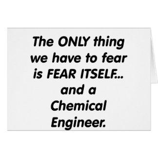 fear chemical engineer card