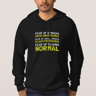 Fear Clowns Hooded Sweatshirts