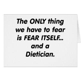 fear dietician card