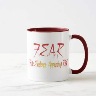 Fear False Evidence Appeaaring Real Mug