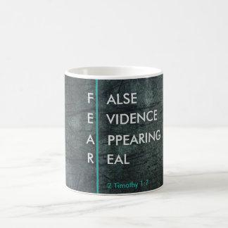 FEAR-False Evidence Appearing Real Mug