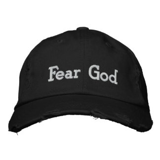 Fear God Embroidered Hat