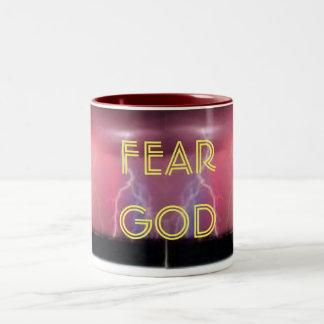 FEAR GOD Two-Tone COFFEE MUG