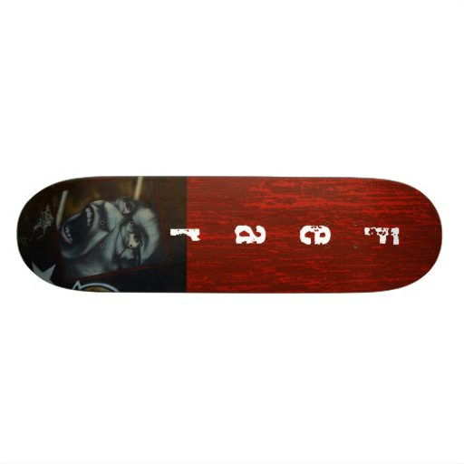 Fear Graffiti Skateboard