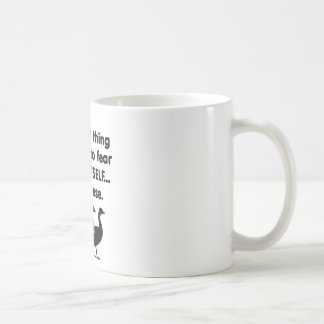 Fear Itself Geese Coffee Mug