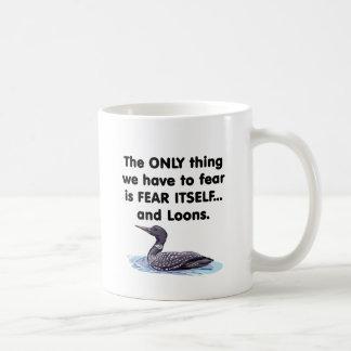 Fear Itself Loons Coffee Mug