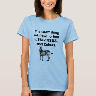 Fear Itself Zebras 1 T-Shirt