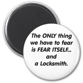 fear locksmith magnet