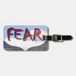 Fear Luggage Tag
