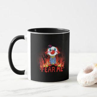 Fear Me Clown Mug