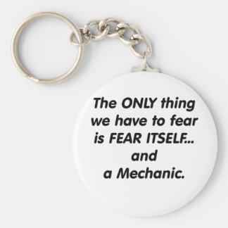 Fear Mechanic Keychain
