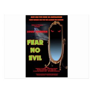 FEAR NO EVIL by Philip J. Riley Postcard
