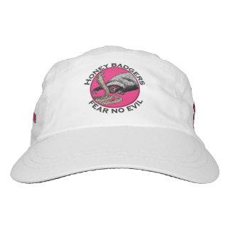 Fear no Evil Honey Badger Funny Animal Pink Design Hat