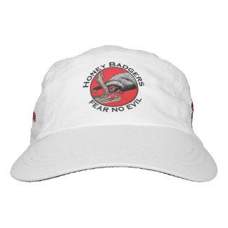 Fear No Evil Honey Badger Funny Animal Red Design Hat