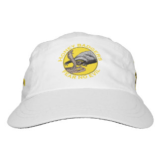 Fear No Evil Honey Badger Snake Animal Art Design Hat