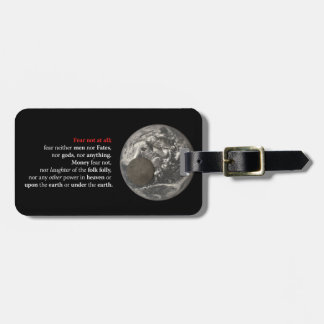Fear Not at All Luggage Tag