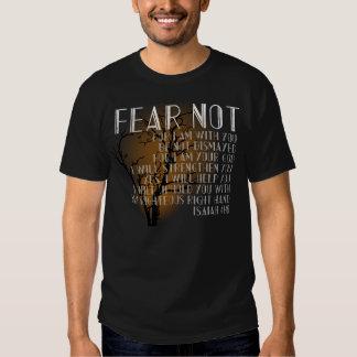 Fear Not, Isaiah 31 Christian Halloween Bible T-shirts