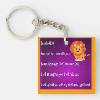 Fear Not Keychain