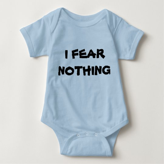 Fear nothing baby bodysuit