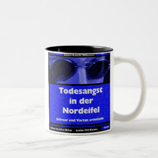 FEAR OF DEATH IN the NORTH EIFEL (Audiobook) Two-Tone Coffee Mug