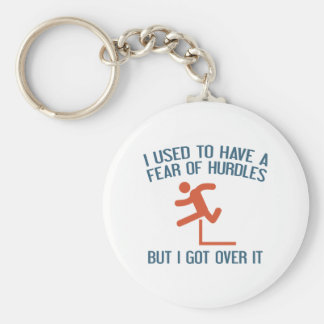 Fear Of Hurdles Keychain