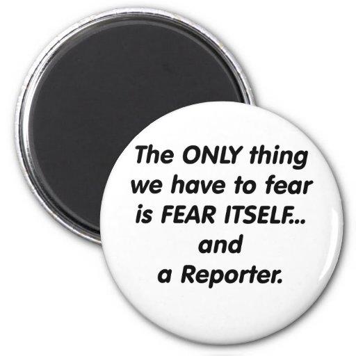 fear reporter magnet