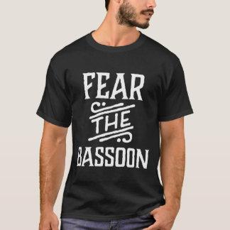 Fear The Bassoon Funny Music Tee Shirt