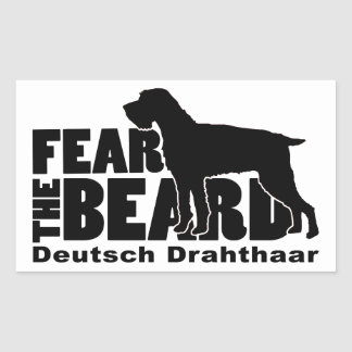 Fear the Beard - Deutsch Drahthaar Gear Sticker