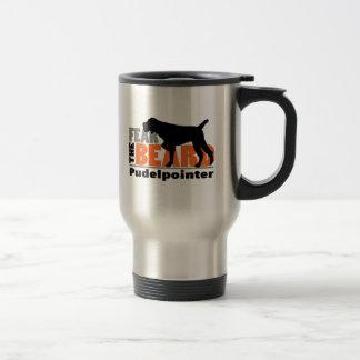 Fear the Beard - Pudelpointer Travel Mug