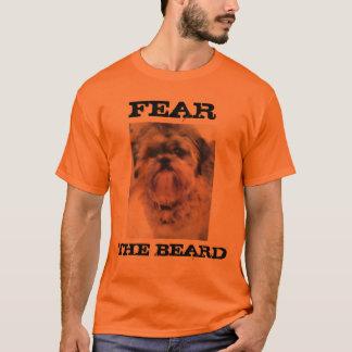 Fear the Beard  Shih tzu Tshirt