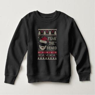 Fear The Beard Ugly Christmas Sweatshirt