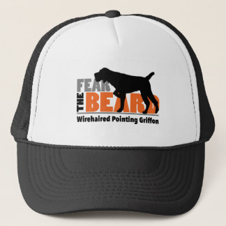 Fear the Beard - Wirehaired Pointing Griffon Trucker Hat