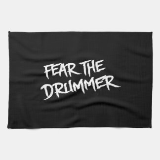 Fear the Drummer Kitchen Towel