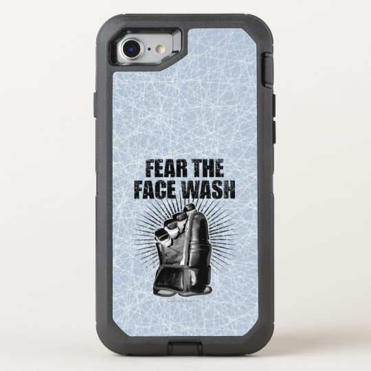 Fear The Face Wash (Hockey) OtterBox Defender iPhone 7 Case