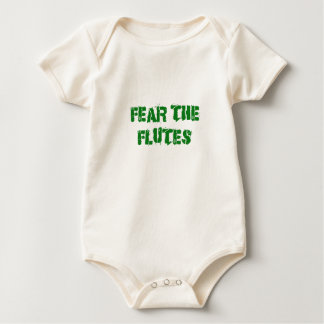Fear the Flutes Baby Bodysuit
