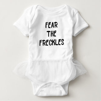 Fear the Freckles Baby Bodysuit