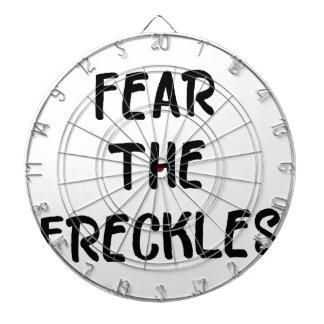 Fear the Freckles Dartboard