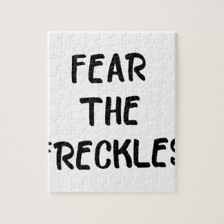Fear the Freckles Jigsaw Puzzle