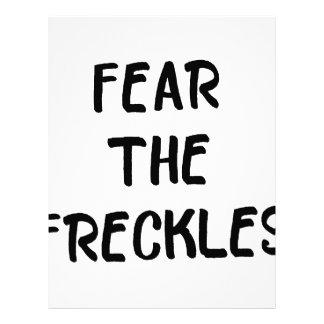 Fear the Freckles Letterhead