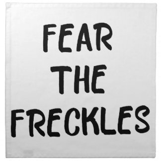 Fear the Freckles Napkin