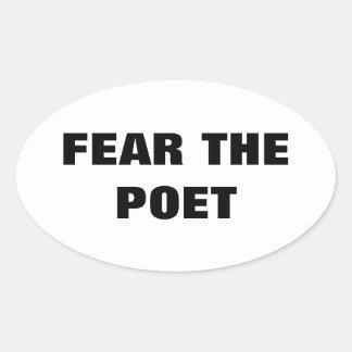 Fear The Poet sticker