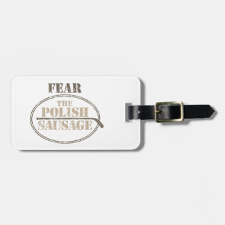 Fear the Polish Sausage (Hockey) Luggage Tag