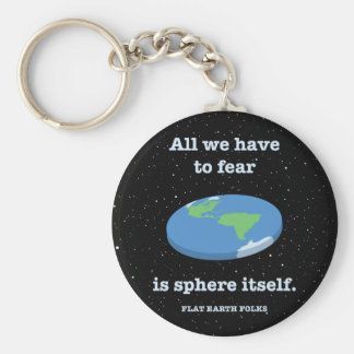Fear the Sphere Basic Round Button Keychain