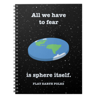 Fear the Sphere Spiral Notebook