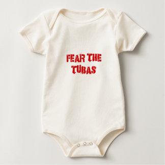 Fear the Tubas Baby Bodysuit