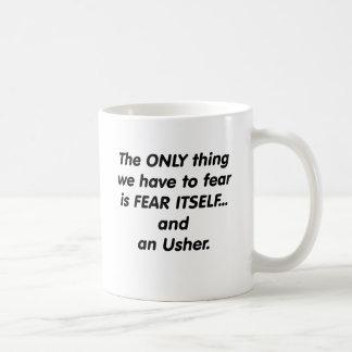 Fear Usher Coffee Mug