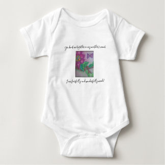 Fearfully and Wonderfully Made! Baby Bodysuit