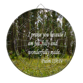 Fearfully and Wonderfully Made Dart Boards